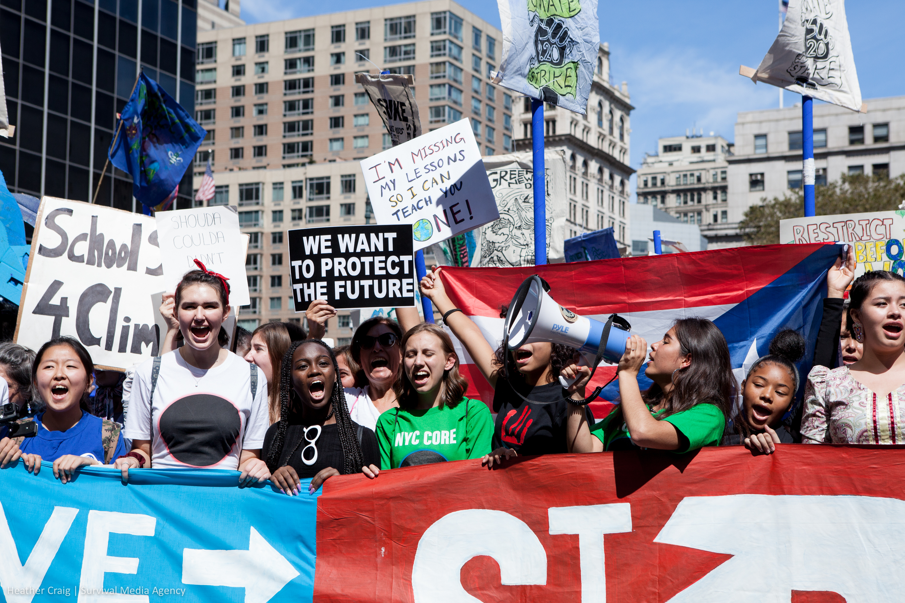 photo of From a Young Climate Movement Leader, a Determined Call for Action image