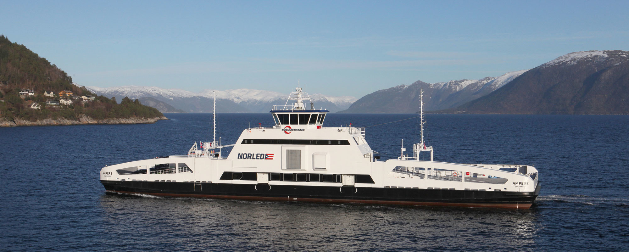 Europe Takes First Steps in Electrifying World's Shipping Fleets
