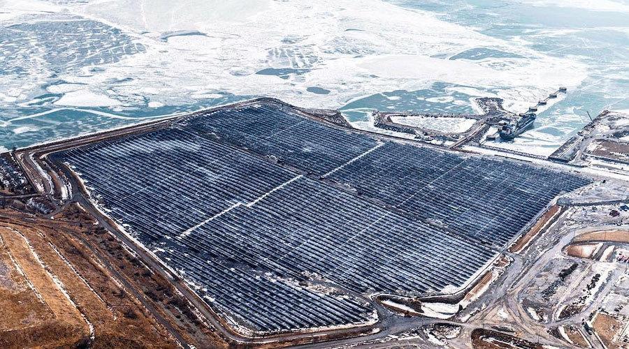 The 44-MW Nanticoke Solar Farm in Ontario.
