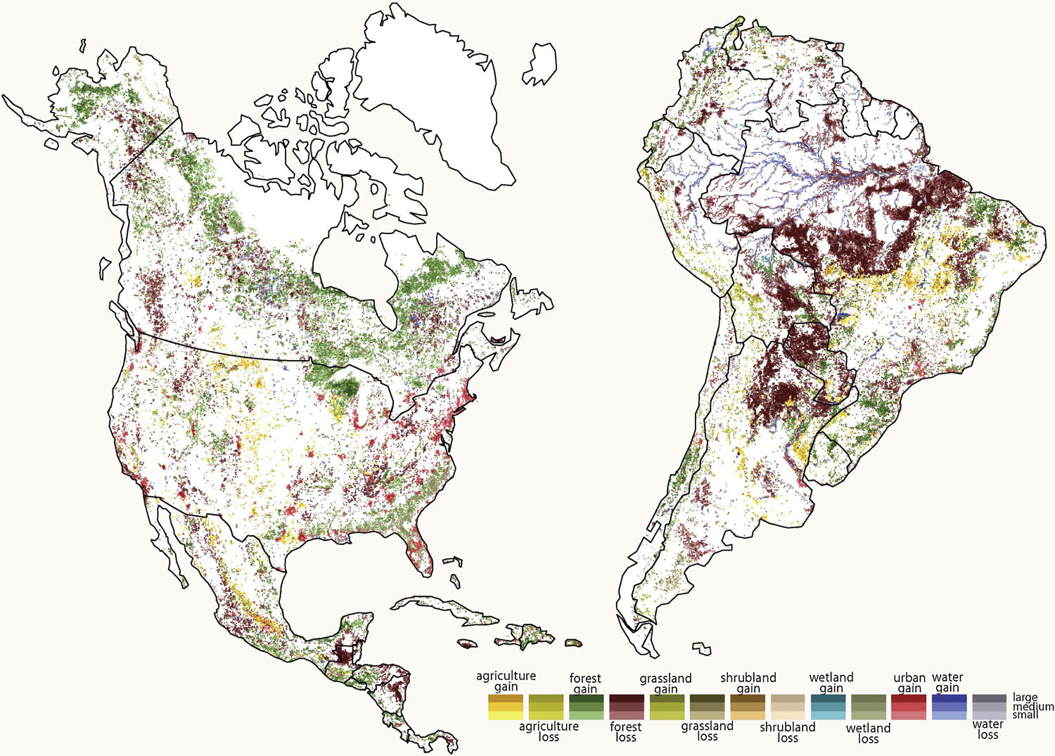 Maps 360.Maps Give Detailed Look At Dramatic Land Use Change Over Two Decades