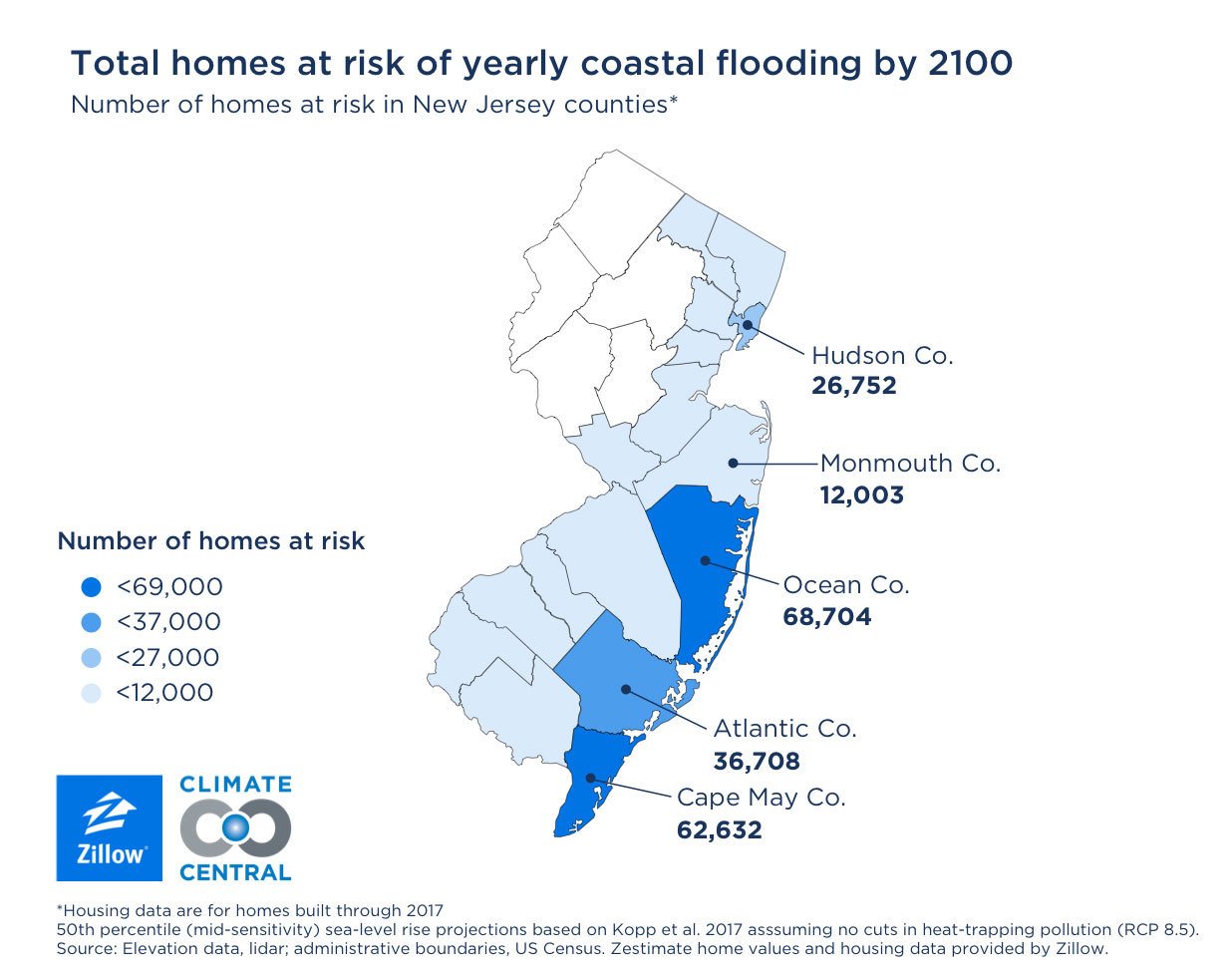 Nearly 400000 Us Homes Will Experience Chronic Flooding By 2050 - Map-of-flooding-in-us