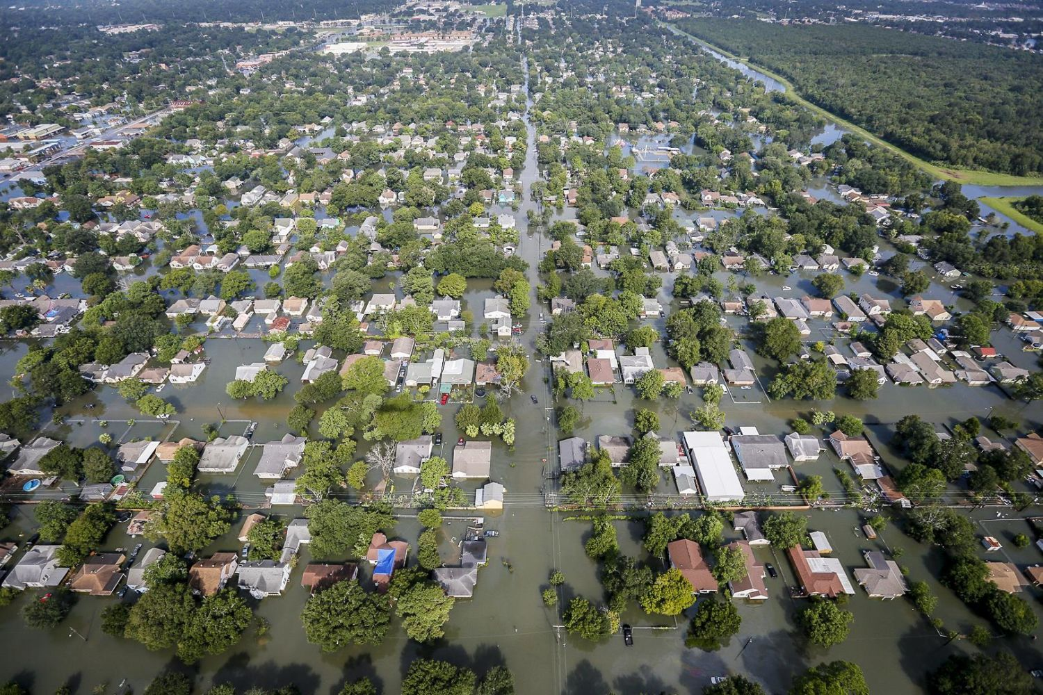 The Woodlands Texas Flooding >> As Harvey S Floodwaters Recede How Should Houston Rebuild