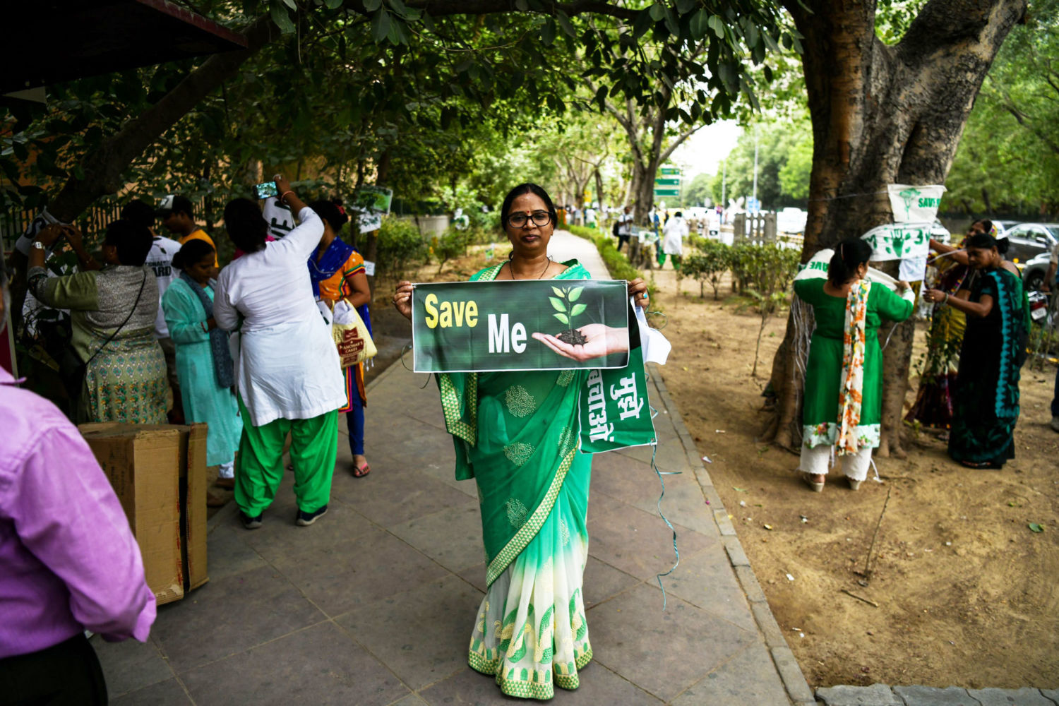In India's Fast-Growing Cities, a Grassroots Effort to Save
