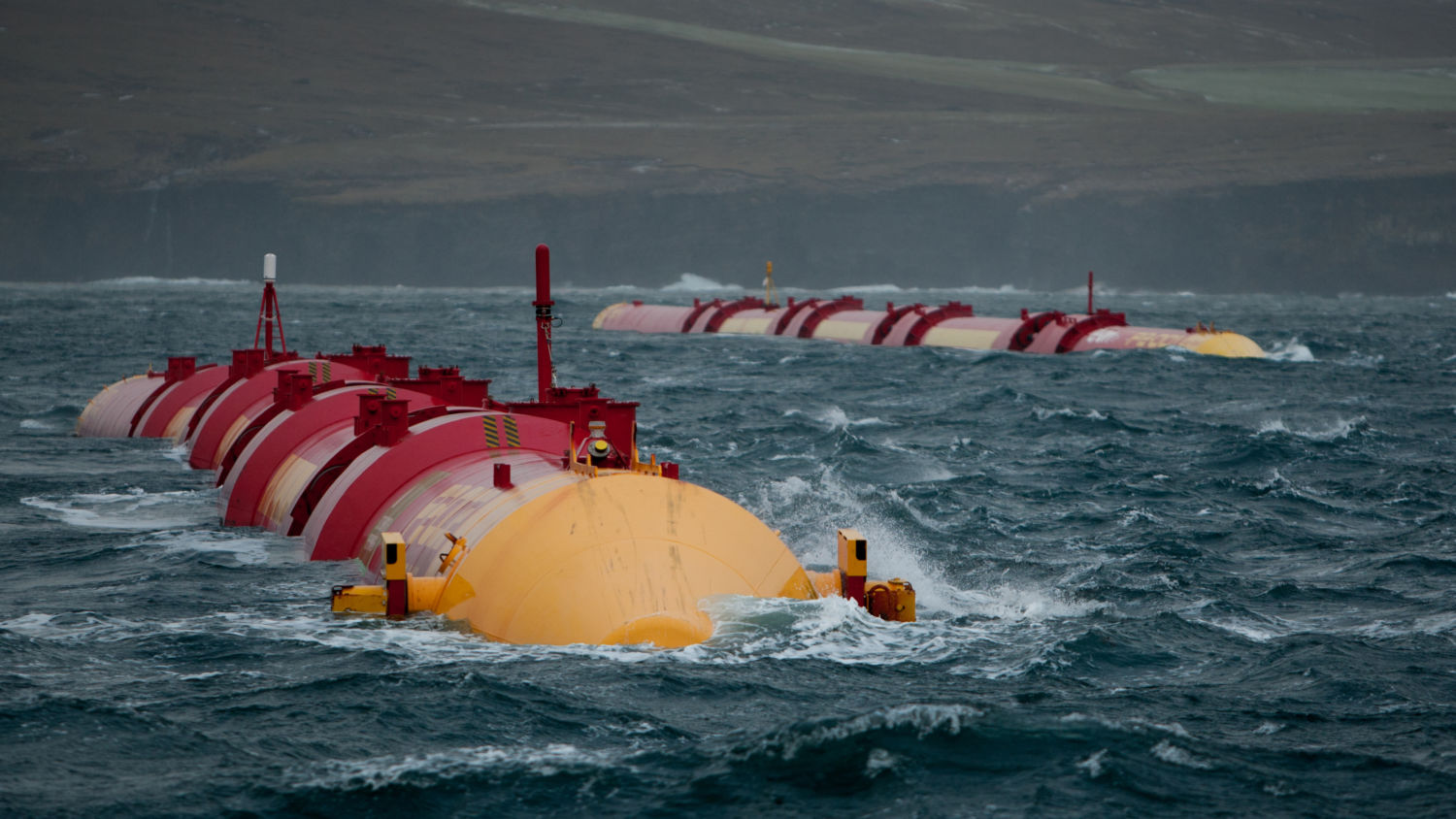 Why wave power has lagged far behind as energy source for Fish on energy