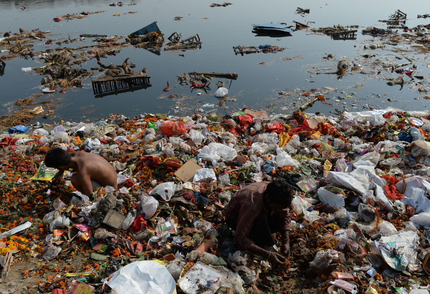 The World's Arteries Are Choking To Death From Plastics