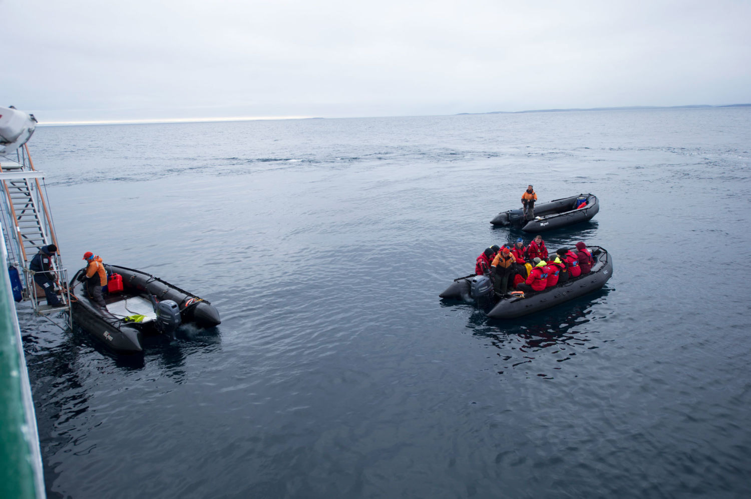 In the Melting Arctic, a Harrowing Account from a Stranded Ship