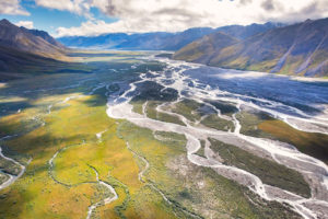 The Arctic National Wildlife Refuge coastal plain.