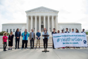 Twenty-one young Americans, ages 11 to 22, are suing the U.S. government over its failure to address climate change.