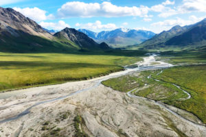 The Hulahula River in the Arctic National Wildlife Refuge.
