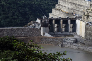 Landslides at the construction site of the Ituango Dam in Colombia forced the evacuation of at least 25,000 people in April.