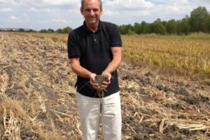 Soil researcher Rick Haney of the U.S. Department of Agriculture