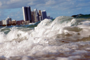 North Miami, Fla., is one of the cities on the U.S. East Coast with sea level rise well above the global average.