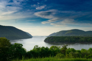 The Clean Water Act of 1972 led to a major cleanup of the Hudson River, seen here from West Point, New York.