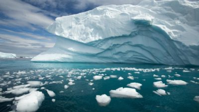 West Antarctica's glaciers and floating ice shelves are becoming increasingly unstable.