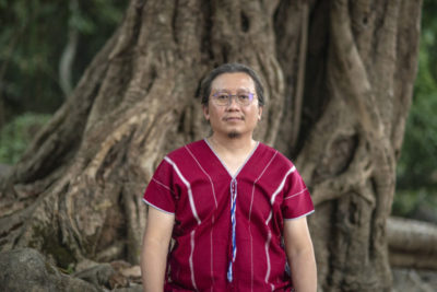Paul Sein Twa, president of Salween Peace Park and winner of the 2020 Goldman Environmental Prize.