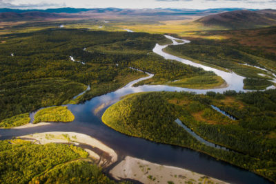 Bristol Bay's Nushagak River, which could be threatened by the proposed Pebble Mine project.