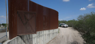 Existing border wall, completed in 2009 at the Hidalgo Pumphouse and Birding Center, already cuts off access to a 900-acre section of the Lower Rio Grande Valley National Wildlife Refuge.