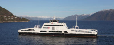 The MS Ampere is one of Norway's two fully electric ferries. The country plans to launch another 60 by 2021.