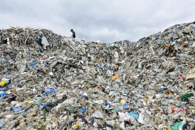 A waste-processing facility in Jenjarom, Malaysia. Starting this year, European companies are no longer allowed to ship plastic waste to developing countries.