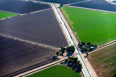 The 80-mile-long All-American canal takes water from the Colorado River to California's Imperial Valley, a major sources of U.S. fruits, vegetables, and cotton.