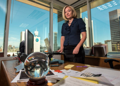 As Colorado River supplies dwindle, Kathryn Sorensen, director of Phoenix Water Services, is racing to find new ways to conserve and store water for the sprawling city of 1.6 million people.