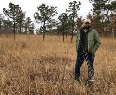 Dwayne Estes, a botanist and executive director of the Southeastern Grasslands Initiative.