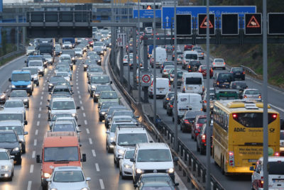 The number of cars on the road in Germany has continued to increase, from 41 million in 2008 to 46 million today.