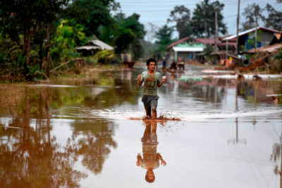 More than 6,000 people were left homeless after a dam under construction in Laos crumbled in July 2018, flooding towns downstream.