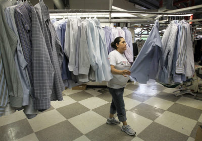 Dry-cleaning shops have long used the chemical compound TCE to remove stains from clothing.