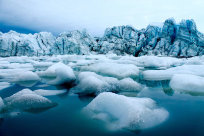 Meltwater in west Greenland.