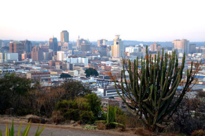 Downtown Harare, Zimbabwe's capital city.