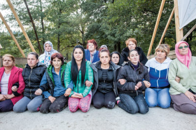 Women in Kruščica, Bosnia and Herzegovina, have set up 24-hour protest camp to stop a hydropower project that would leave their village without drinking water.