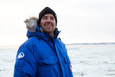 Biologist Geoff York is developing a new radar system that will alert communities of approaching polar bears.
