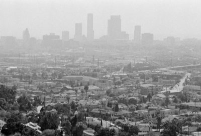 Smog over Los Angeles in July 1978.