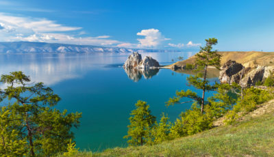 The Lake Baikal World Heritage site in Russia has lost 5 percent of its forest cover because of unsustainable logging practices.