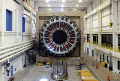 This 9.5-megawatt turbine being built at Clemson University in South Carolina will reportedly be the world's most powerful when completed.