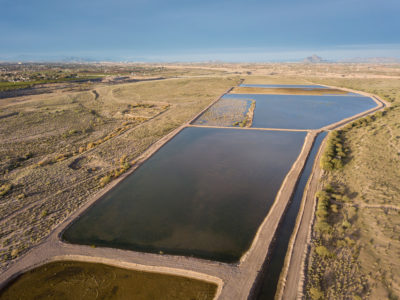 The Granite Reef Underground Storage Project, a water bank located on Salt River Pima-Maricopa Indian Community land, is a partnership between Phoenix and other regional municipalities. It funnels water from the Salt and Verde rivers and the Central Arizona Project into ponds, where it leaches into underground aquifers for later use.