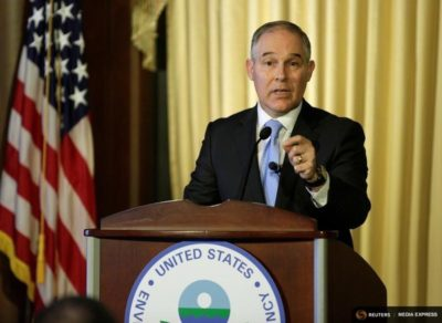 EPA head Scott Pruitt.