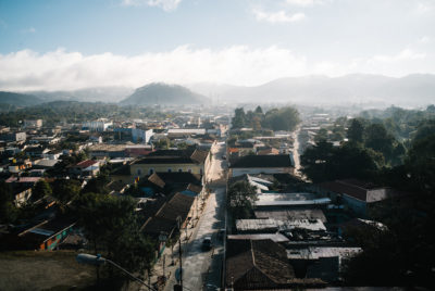 The market town of La Esperanza, Honduras, where Berta Cáceres's organization, COPINH, is based.
