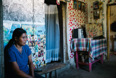 Activist Maria Santos Dominguez was severely injured when she was attacked with a machete by villagers who support a proposed dam.