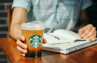 By 2020, Starbucks' 28,000 locations will use strawless lids on all of its cold beverages.