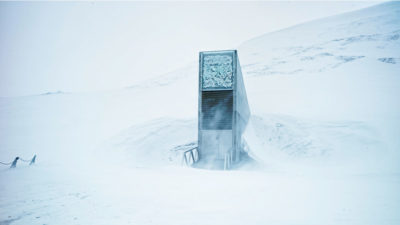 The Svalbard Global Seed Vault in Norway.