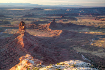 The Valley of the Gods in southeastern Utah, which lost protections when President Trump dramatically reduced the size of Bears Ears National Monument.