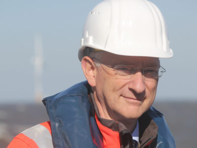 Benj Sykes, vice president of DONG Energy Wind Power.