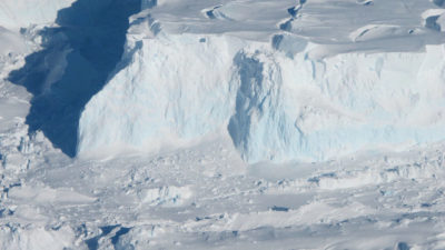 If melting continues, the Thwaites Glacier in West Antarctica alone could cause global sea levels to rise 10 feet.