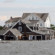 Homes in Mantoloking, New Jersey, off of Barnegat Bay, damaged by Sandy in 2012.