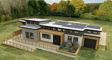 Solar Decathlon: The Search for The Best Carbon-Neutral House