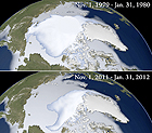 NASA Sea Ice 1980 2012