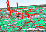 Map Carbon Emissions at Street Level Indianapolis