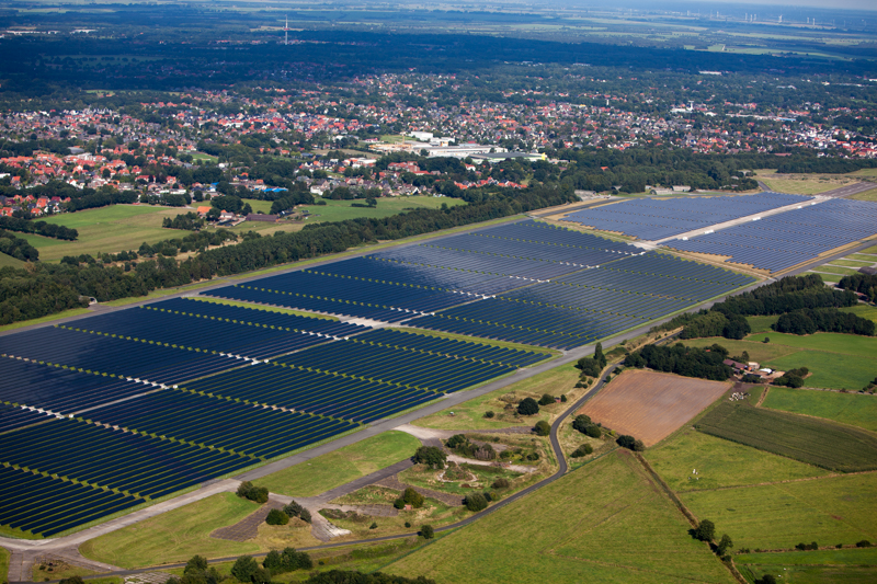 Aerial Views Of Why Europe Has a Small Carbon Footprint ...